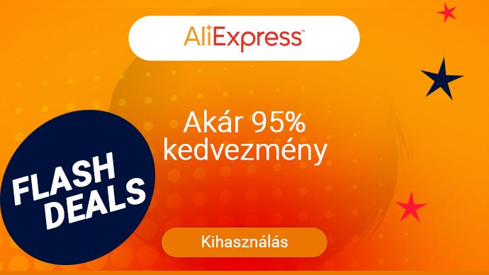 AliExpress - akár 95% kedvezmény